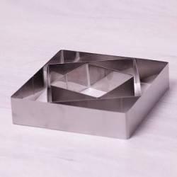 Набор квадратных форм для гарнира Kamille 3 шт