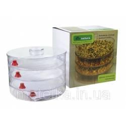 Проращіватель зерна, насіння і мікрозелень Sprouter Bio-natura
