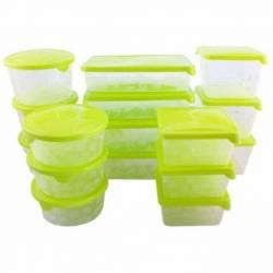 Набір харчових ємностей для зберігання і заморозки BranQ Rukkola 17 шт.