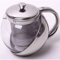 Стеклянный заварочный чайник Kamille 0,5 л