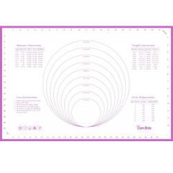 Силіконовий килимок з розміткою Con Brio 40 х 60 см