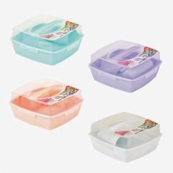Набор пластиковой посуды для пикника на 6 персон Irak Plastik