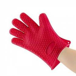 Перчатки кухонные силиконовые, 1 шт