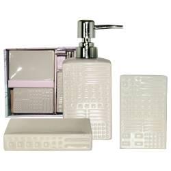 """Керамический набор для ванной комнаты """"Алмаз"""""""