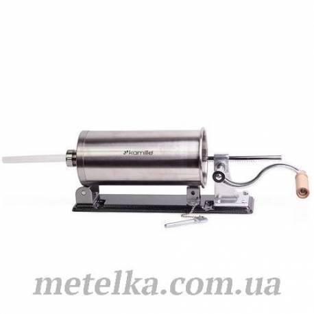 Шприц колбасный Kamille горизонтальный на 3 кг