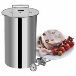 Ветчинница с термометром и пакетами Orion 1,2 кг