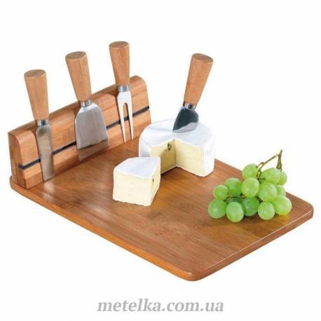 Доска для сыра Orion с сырными ножами