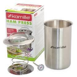 Ветчинница с термометром Kamille 1,5 кг