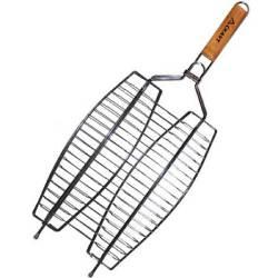 """Решетка-гриль для рыбы Kamille """"Скаут"""" двойная 36х25х2смl"""