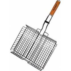 "Решетка для гриля Kamille ""Скаут"" глубокая 31х25х5.5см"