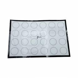 Силиконовый коврик с термоволокном для макарунс SNS 42,5 х 28 см