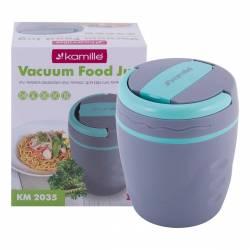 Термос пищевой Kamille пластиковый с емкостью 1 л