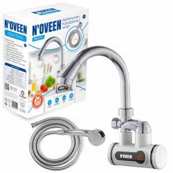 Кран водонагреватель проточный со шлангом Noveen IWH370