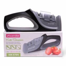 Точилка для ножей Kamille с двумя видами заточки 21,5 х 4,5 х 9 см