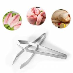 Пинцет - щипцы для удаления костей из рыбы SNS