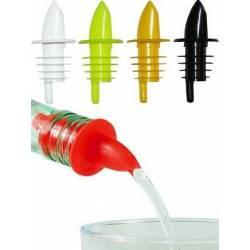 Комплект гейзерів Empire пластикових для пляшок 4 шт