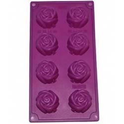 """Форма силіконова """"Бутон троянди"""" планшет 28 х 15 см"""