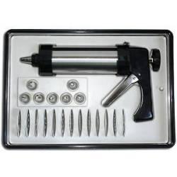 Пистолет кондитерский 21 насадка с подставкой