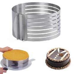 Форма раздвижная Empire с разрезами для бисквита 24 - 30 см