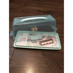 """Тортовница-витрина """"Кекс"""" Dunya Plastik 33 х 14 см"""
