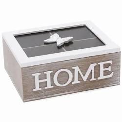 Коробка - шкатулка для зберігання чаю та солодощів