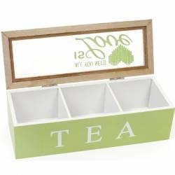 Коробка для зберігання чаю та цукру 24 х 9 см