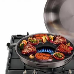 Сковорода гриль-газ Benson 32,5 см