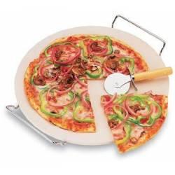 Камінь для піци з підставкою і ножем Orion 33 см
